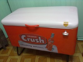 FREEZER ANTIGO CRUSH DE 1952 - ALUGUEL